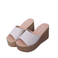 Damen-Sandalen-Kleid Lässig-Stoff-Flacher Absatz-Komfort Fersenriemen-Schwarz Beige Rot Grün