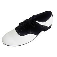 Pánské - Taneční boty - Šicí boty - Semiš / Kůže - Masivní podpatek - Vícebarevný