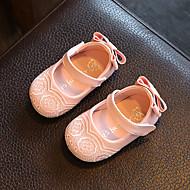 Vauvat Tasapohjakengät Comfort Kengät kukkaistytölle Tekonahka Kevät Syksy Kausaliteetti Kävely Comfort Kengät kukkaistytölle
