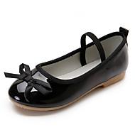 女の子-カジュアル パーティー ドレスシューズ-PUレザー-フラットヒール-フラワーガールの靴 コンフォートシューズ-オックスフォードシューズ-