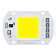 50W utral fényes vezetett csutka chip 110v 220v input intelligens IC diy led árvíz fény (1 db)