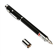 3934 Writing / Pointer / Infrared Three In One Function Laser Pen Black / Silver Random