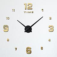 Retro Zegar ścienny,Zaokrąglanie Drewno 31.5*39 Domowy Zegar