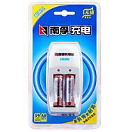 Nanfu aa nikl-metal hydridové dobíjecí baterie 1.2V 1600mAh 3 pack