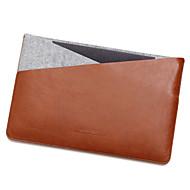 Apple MacBook Air / Pro 13,3 tuumaa Pro 15,4 Kannettavan laukku PU nahka kanssa tuntui yksinkertainen vapaa tyyli kannettava pussi