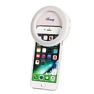 συμπληρώστε οδήγησε φως με ροοστάτη επαναφορτιζόμενων για το iPhone και όλα τα smart phones φορητό νύχτας 1pcs φακό