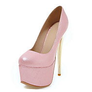 Women's Heels Spring Summer Fall Club Shoes Novelty Patent Leather Customized Materials Wedding Party & Evening Dress Stiletto HeelOthers