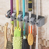 The Broom Mop Rack Rack Multifunctional Rack Hook