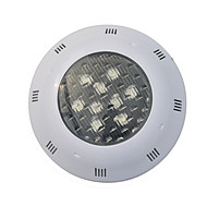jiawen 9W שחי RGB LED אורות ברכת תאורה חיצונית תת מנורת אורות בברכה הובילו 24V DC מנורה הפיסינה