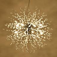 Lampe suspendue ,  Traditionnel/Classique Peintures Fonctionnalité for LED MétalSalle de séjour Chambre à coucher Salle à manger