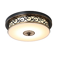 LightMyself 30CM(11.81'') LED 12W  Flush Mount   Modern/Classic Rustic/Lodge Vintage Retro Country Bronze Feature for LED MetalLiving Room