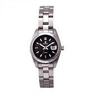 Fashion Watch Water Resistant / Water Proof Quartz Stainless Steel Band Cool Casual Silver