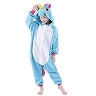Kigurumi Pijamale Unicorn Leotard/Onesie Festival/Sărbătoare Sleepwear Pentru Animale Halloween PeteciCostume Cosplay Decorațiuni de
