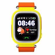 IPS Smartwatch GPS barna berøringsskjerm vanntett posisjon sos plassering finder kid anti tapt monitor smartur gps
