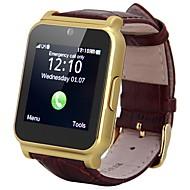 1,54 pouces mtk6260 horloge avec fente pour carte SIM / tf poussoir un message fm écouteurs radio caméra connectivité Bluetooth pour