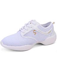 Sapatos de Dança(Preto Branco) -Feminino-Não Personalizável-Jazz Tênis de Dança Moderna