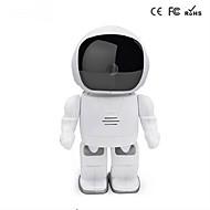 960p robot ip bebé de la cámara hd wifi supervisar 1.3MP IR de audio inalámbrico CCTV p2p visión nocturna