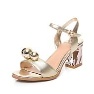 Sapatos de Dança(Branco Prateado DouradoNão Personalizável-Latina