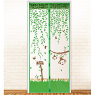 Mosquito Curtain Polyesteria kanssaOminaisuus on Salaus & Magnetic , Varten Ovi ja ikkuna