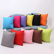 1 pcs Cotton Pillow Case,Solid Modern/Contemporary Traditional/Classic