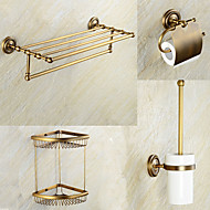 Bathroom Accessory Set / Antique CopperBrass /Antique