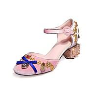 Sandály-Personalizované materiály-Pohodlné Novinky D´Orsay-Dámské-Černá Modrá Růžová-Svatba Šaty Party-Kačenka