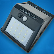 Corpo humano solar lâmpada de parede sensor infravermelho