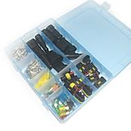 Wasserdichter elektrischer Anschlusskasten-Set - 2to 3-fach und Klinge Sicherung