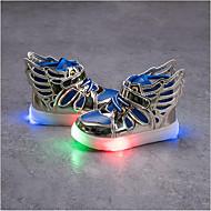 Para Meninos-Tênis-Light Up Shoes-Rasteiro-Preto Vermelho Azul-Sintético-Casual Para Esporte Festas & Noite