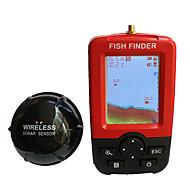 물고기 탐지기 방수 LED CE 휴대용 On/off 화이트 Led 무선 없음 하드 플라스틱 옐로 셰드