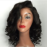 HOT!! Short Brazilian Virgin Hair Full Lace Wigs Human Hair Wigs 8-24 Curly Lace Front Wigs