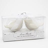 Fugl Design Keramiske Salt & Pepper Shakers