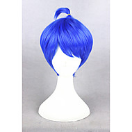 Short Inside Out Joy Blue 12inch Ainme Party Synthetic Cosplay WigsCS-274A