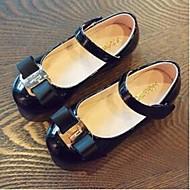 -Девочки-Повседневный-Лакированная кожа-На плоской подошве-Удобная обувь-Мокасины и Свитер