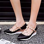 Oxford-kengät-Matala korko-Naiset-PU--Rento-Comfort