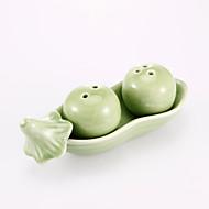 Keramický Praktické ODMĚNY kuchyňská náčiní Zahradní motiv Bílá / Zelená Stuhy