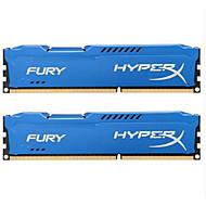 Kingston RAM 8GBのキット(最大4GB * 2) DDR3の1600MHz デスクトップメモリ HX316C10FK2/8