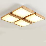 צמודי תקרה ,  מודרני / חדיש מסורתי/ קלאסי עץ מאפיין for LED מתכת חדר שינה חדר אוכל חדר עבודה / משרד חדר ילדים מסדרון מוסך