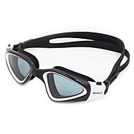 Zwembrillen Anti-condens Slijtvast Waterdicht Verstelbare Maat Anti-UV Krasbestendig Breekbestendig Anti-Slip Band Silicagel PCGeel Wit