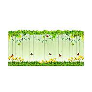 Květiny Moderní Nálepka na dveře,PVC/Vinil Materiál dekorace oken