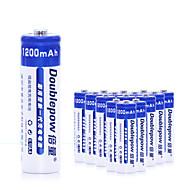 aa niklkadmiové dobíjecí baterie 1200mAh 1.2V 20 pack