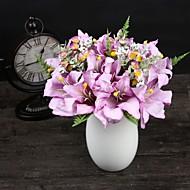 1 Větev Polyester Umělá hmota Lilie Květina na stůl Umělé květiny 33