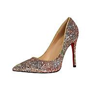 Ženske Cipele na petu Proljeće Ljeto Jesen Udobne cipele Umjetna koža Ured i karijera Formalne prilike Stiletto potpeticaCrvena Plava