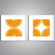 Ingelijste Afdrukken Op Doek Stilleven Voedsel Modern Realisme,Twee panelen Canvas Print Muurdecoratie For Huisdecoratie