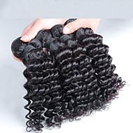4 pcs/ lot Malaysian Deep Wave Hair, Free Shipping Virgin Malaysian Hair Wholesale Deep Wave