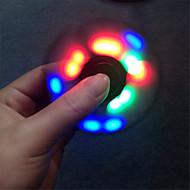 ywxlight® fidget spinner led light fidget spinner 손가락 abs abs 손목 스피너 어린이 자폐증 adhd 불안 스트레스 구제 포커스