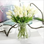 10 Branch Real touch Tulips Tabletop Flower Artificial Flowers