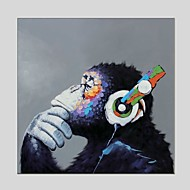 Oil Paintings  Gorilla Canvas Material With Wooden Stretcher Ready To Hang Size60*60CM and 70*70CM .