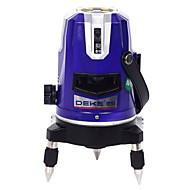 Deke® 3 lignes 530nm infrarouge laser laser instrument de marquage ligne de nivellement laser