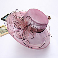 Women's Handmade Artificial Flower  Floral Summer Or Spring Simple Sun Bucket Hats Caps